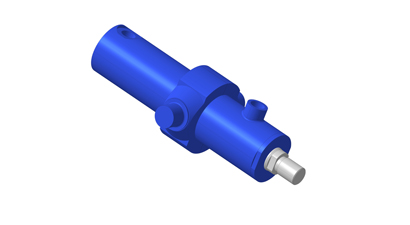 Hydraulic cylinders for the material handling