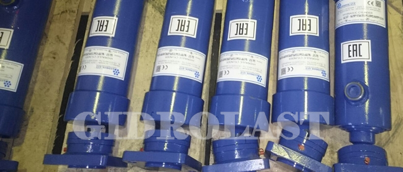 Telescopic hydraulic cylinders
