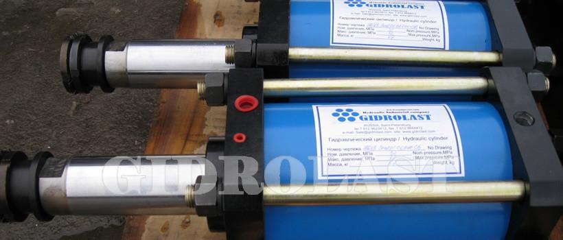 Hydraulic cylinders for heavy trucks