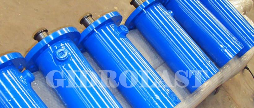 Hydraulic cylinders for marine and shipyard use