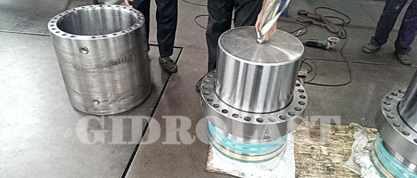 Hydraulic jacks system