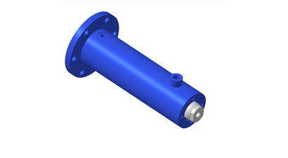 Hydraulic cylinders for heavy trucks
